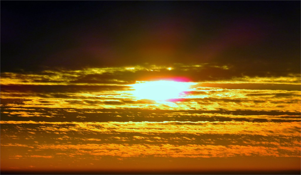 Beautiful Sun Rising View