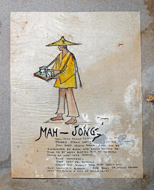 Mah-Jongg Costume Design