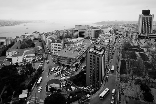 Gezi Park & Bosphorus