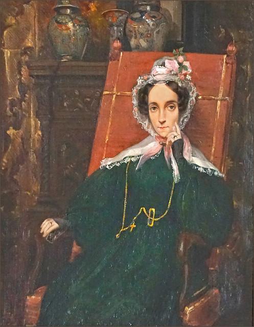 Portrait de Céleste de Chateaubriand (Chatenay-Malabry)