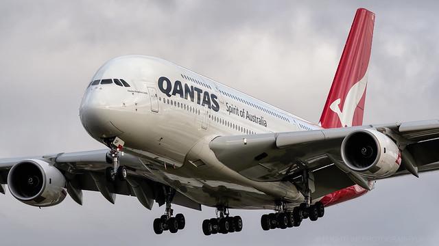 VH-OQF | Airbus A380 | Qantas | London Heathrow | January 2018