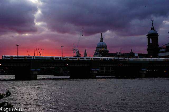 Dawn in London