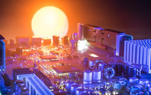 lightpainting lightart creative sunset cityscape silicon 365 3652018 nikor 60mm macro sonya7ii