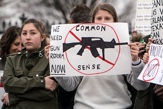 We need gun reform now, student lie-in at the White House to protest gun laws | by Lorie Shaull
