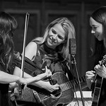 Tue, 20/02/2018 - 1:38pm - The trio of Sara Watkins, Sarah Jarosz and Aoife O'Donovan play for WFUV listeners at the Fordham University Church in NYC, 2/20/18. Hosted by John Platt. Photo by Gus Philippas/WFUV