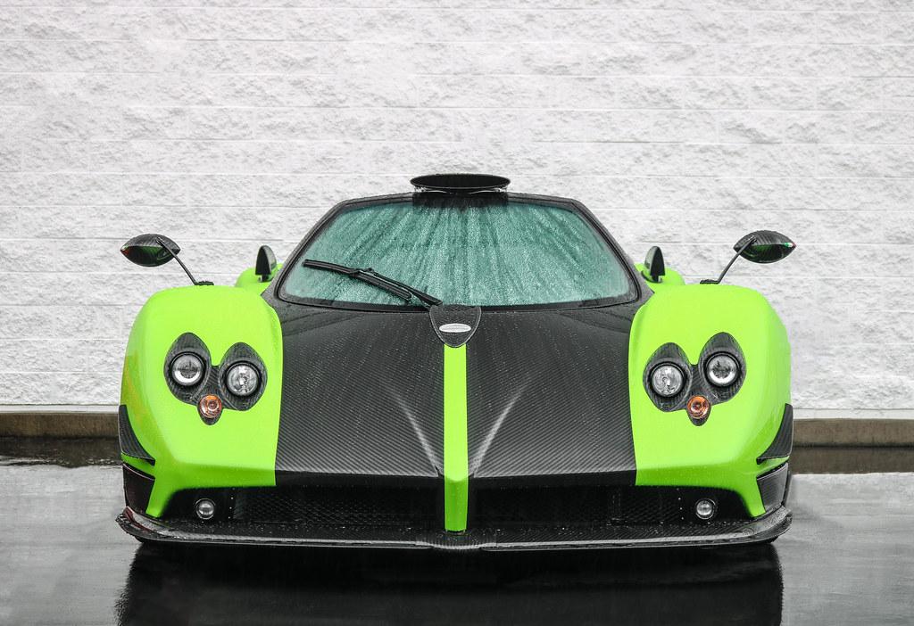 Pagani Zonda Green Supercars Gallery