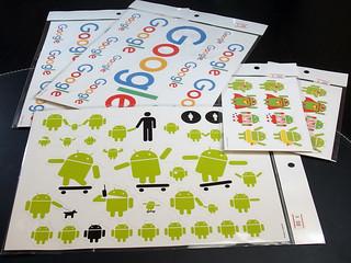Googleステッカーを買ってきた   by goodegg0843