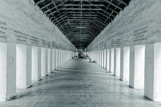 Passageway of Shwezigon Pagoda - Nyaung-U, Myanmar | by Phil Marion