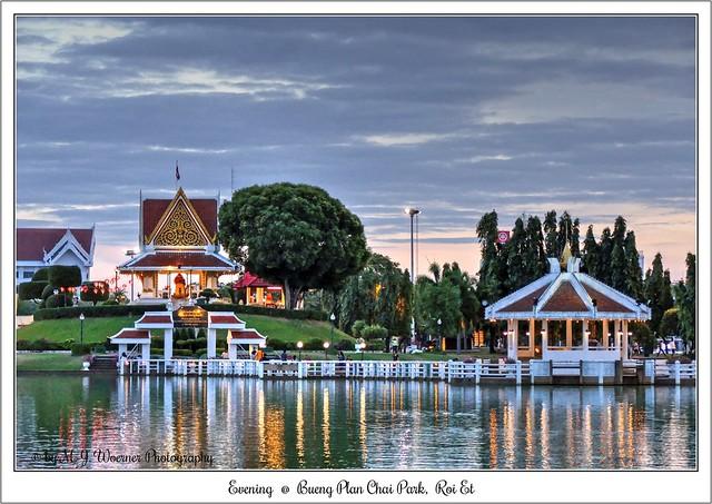 Evening @ Bueng Plan Chai Park, Roi Et  01