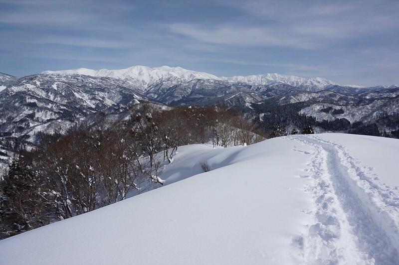 西山からの白山連峰 その2 EPZ1650編