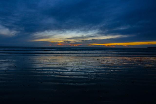 First Light on a beach