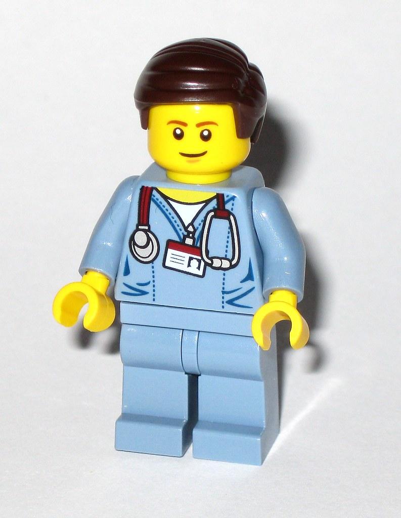 McScrubs 70811 The LEGO Movie Minifigure Details about  /Lego Dr