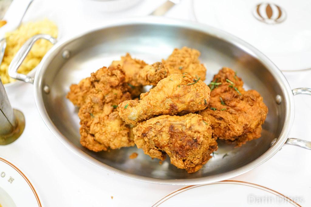 fried chicken @ bouchon