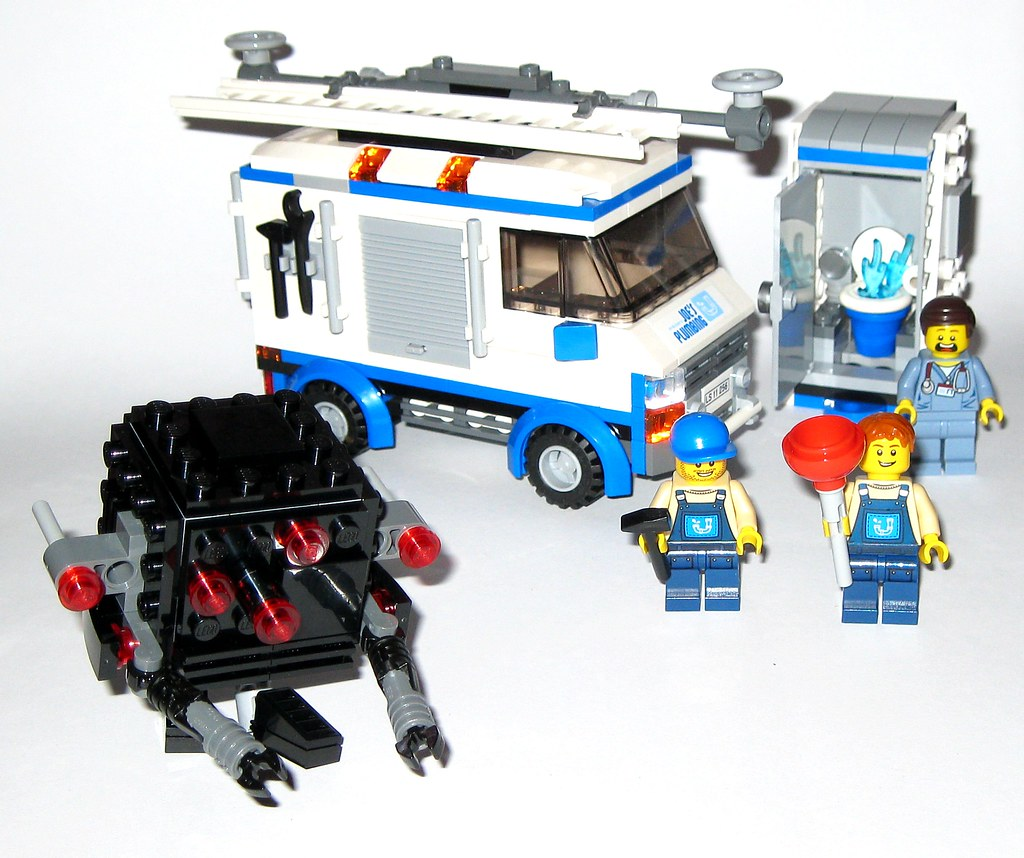 Lego 70811 The Lego Movie The Flying Flusher 2014 D Flickr