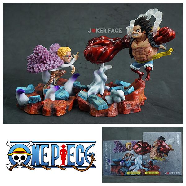 Monkey D Luffy Gear 4 Vs Donquixote Doflamingo One Piece