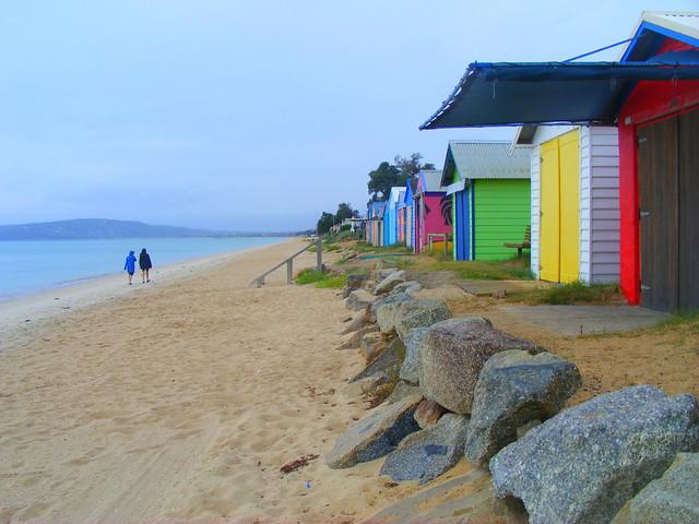 Beach Cabins, Dromana, Victoria.