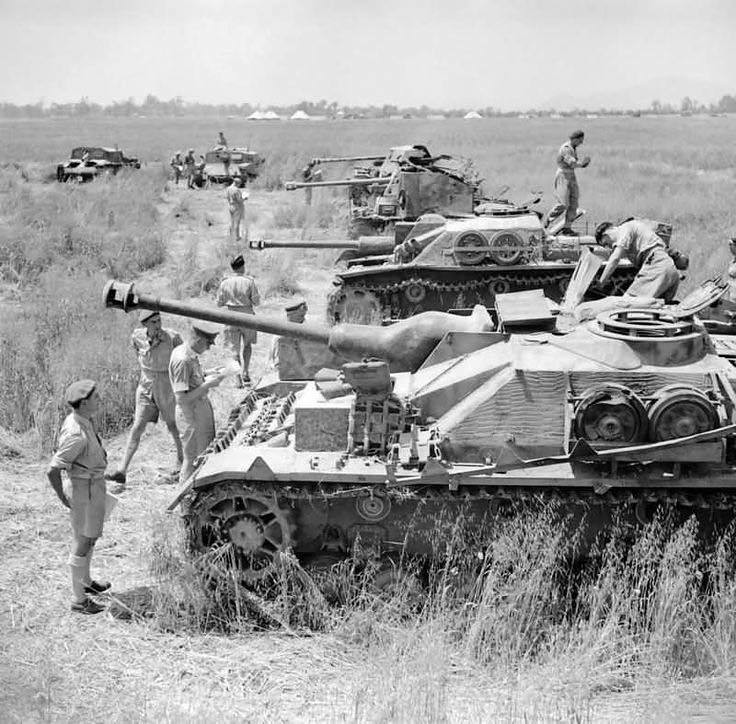 captured StuG IV, StuG III ausf G