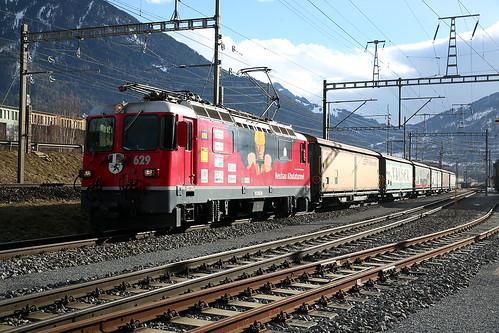RhB Ge4/4II 629 - Haldenstein | by swistrail