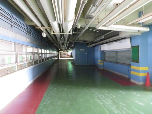 船橋競馬場の4階