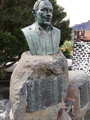 Bust of Don Jose Perez Gonzalez at Masca