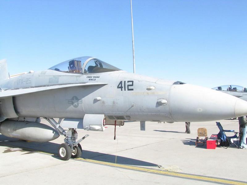 McDonnell-Douglas FA-18C Hornet 1
