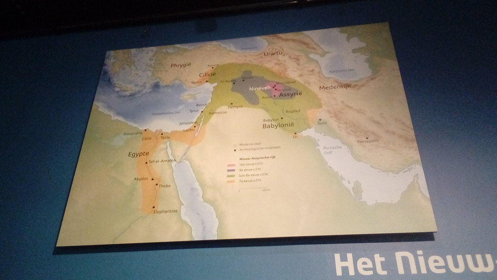 Map of ancient Middle East | Egypt, Assyria, Babylonia etc