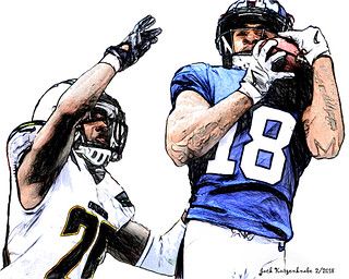 New York Giants  Roger Lewis - Los Angeles Chargers Casey Hayward
