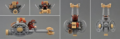 Civilian Speeder Bike 'Chariot' (Additional views)