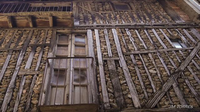 Pared de piedras. La Alberca, Salamanca