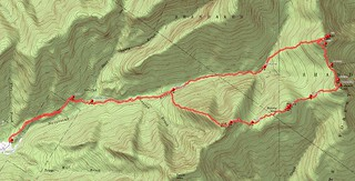 Catskills 2015 Delorme Topo Map GPS Track Friday Balsam Cap Rocky Lone | by _JFR_