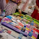 Colourful brochures