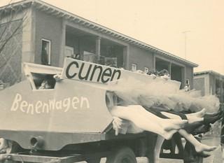 Carnavalsoptocht Nachtegaallaan - 1966