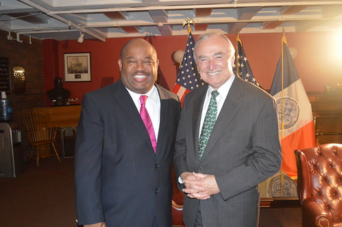 Police Commissioner Bill Bratton & TV Journalist Dominic Carter | by Dominic Carter tv