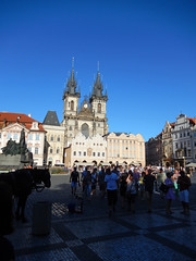 Old Town Square and Týn Church, 2016 Aug 26