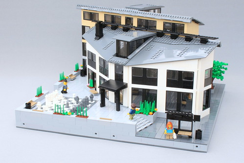 LEGO City - House of Culture | by Oscar Cederwall (o0ger)