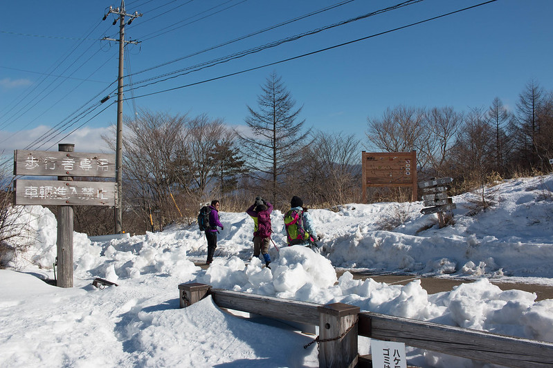 飯盛山の登山口