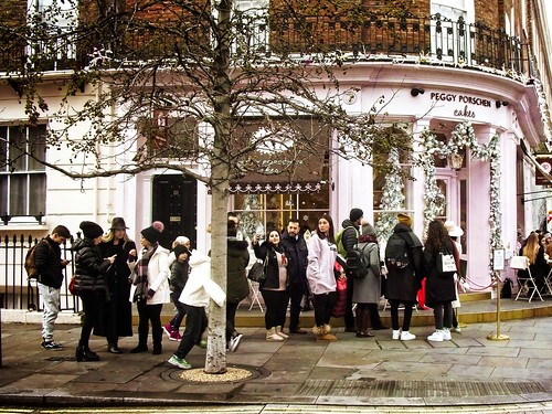 Queue at the Cake Shop   by garryknight