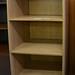 Open oak bookcase E125