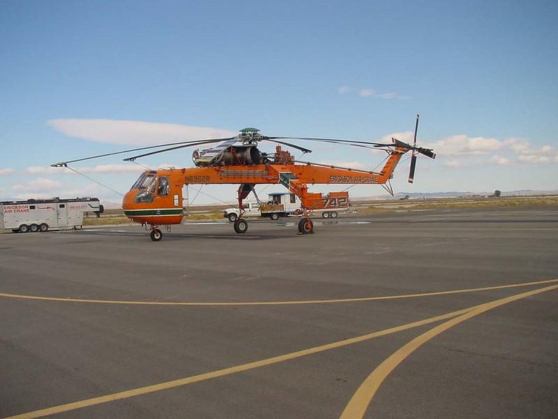 西科斯基S-64E2空中吊车
