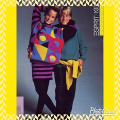 80s Esprit Kids Clothing Advertisement