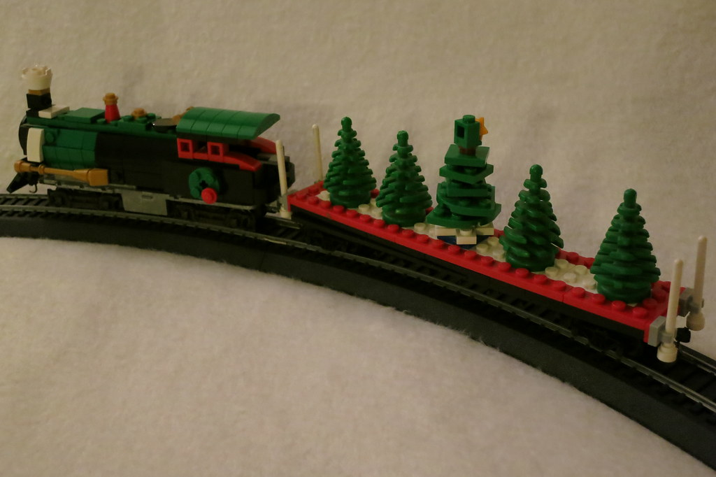 Ho Christmas Train.Lego Ho Scale Christmas Train I Wanted To Have A Train To