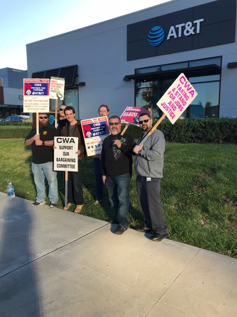 Local 9510 members at Newport Beach