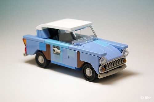 Harry Potter flying Ford Anglia 105E (junk version) _06 | by _Tiler