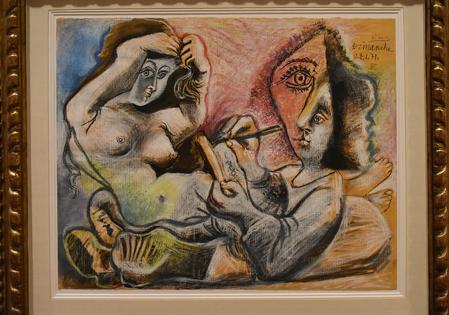 Picasso, The Painter and His Model, 1971, Museum Berggruen, Berlin