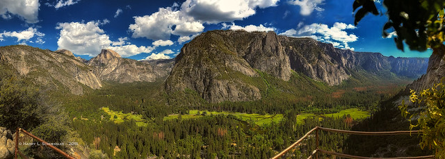 Yosemite Valley iPhone Panorama