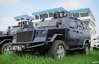 Bangladesh Police IAG Jaws APC.
