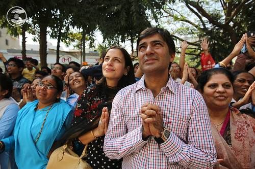 Loving farewell from Satsang Bhawan, Nasik