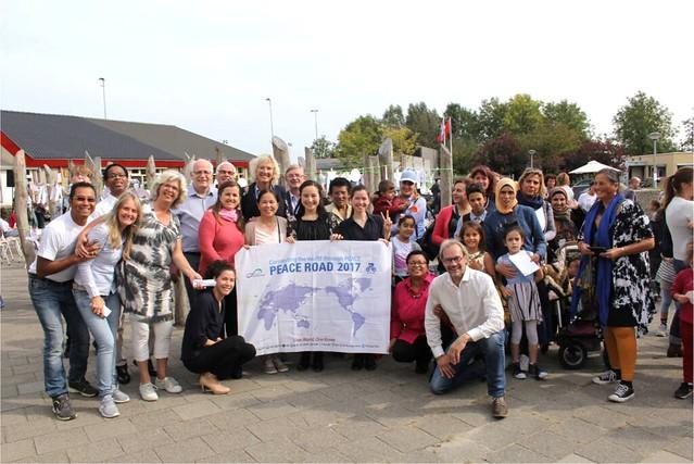 2017-09-21-Netherlands-Netherlands Peace Road Held for Schoolchildren