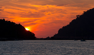 sunset from the yacht near Langkawi island, Malaysia      XOKA1487s | by Phuketian.S