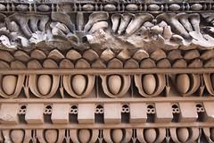 Detalle de cornisa romana